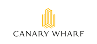the logo of canary wharf